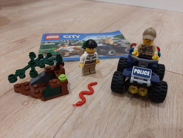 LEGO CITY 60065 quad policyjny