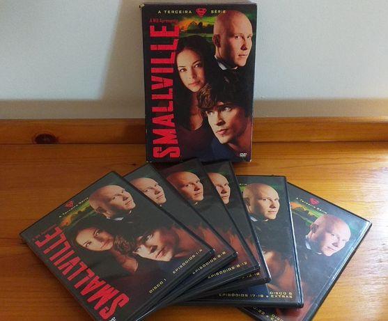 SmallVille - A Terceira Série - 6 discos