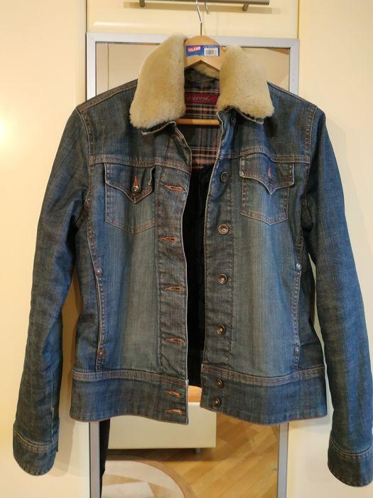Куртка джинсовая с воротником Киев - изображение 1