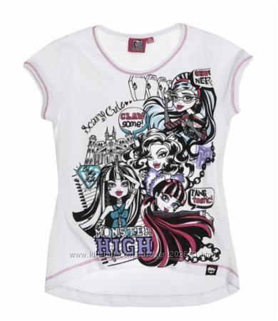 Футболочка Monster High на 10-12 лет, хлопок, Германия, в наличии
