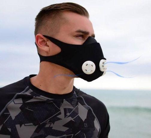 Маска для тренировок ограничитель дыхания Motion Mask MA-836