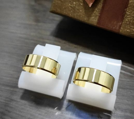 Wyjątkowy Duet Złotych Obrączek Ślubnych