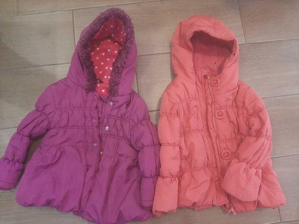 Куртки демизесонные на двойню девочек