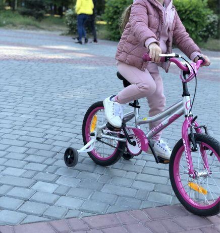 Велосипед Apollo Neo 16 girls розовый/raw