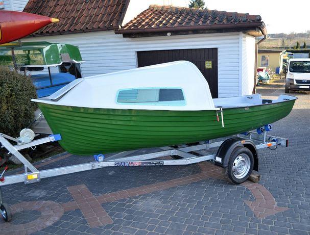 Łódka kabinowa Meduza 420 KABIN Łódź Antila Kętrzyn Mazury