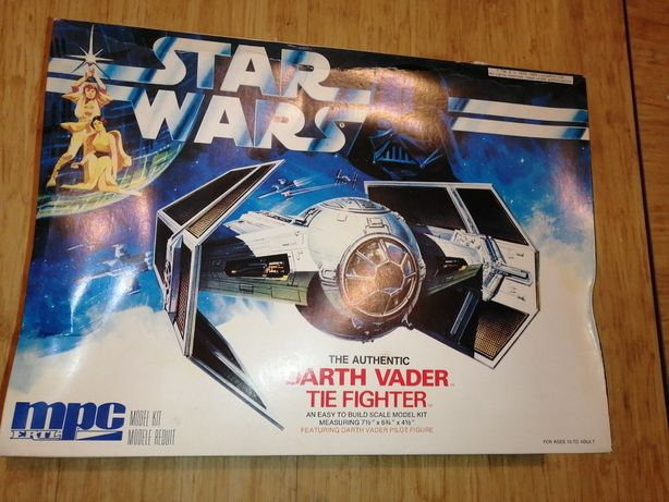 Star Wars Darth Vader Tie fighter 1989 MPC