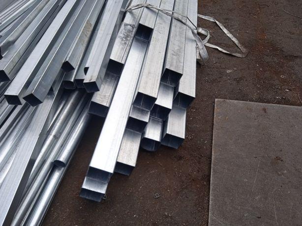 Vendo ferro de várias medidas em preto ou galvanizado