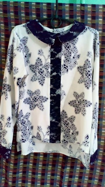Нарядная блузка на девочку