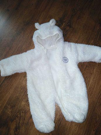 Kombinezon niemowlęcy chłopięcy jesień zima rozmiar 56