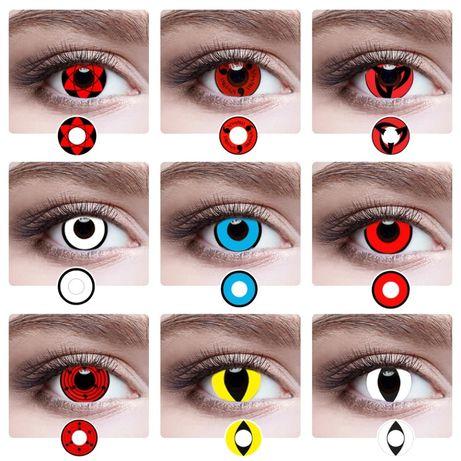 Цветные линзы для глаз.