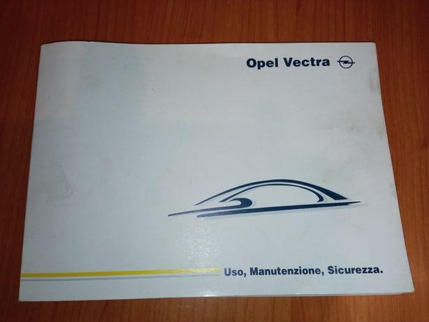 Instrukcja Opel Vectra książka