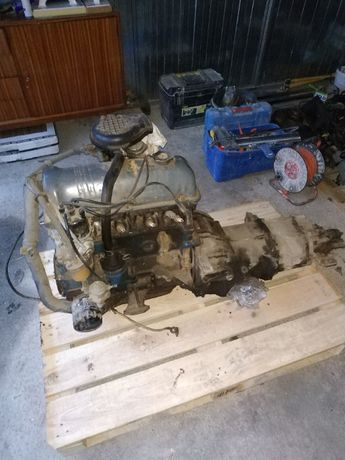 Moskwicz 2141 (Aleko) silnik i skrzynia biegów