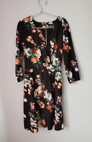 Piękna sukienka w kwiaty rozm M. Mela loves London