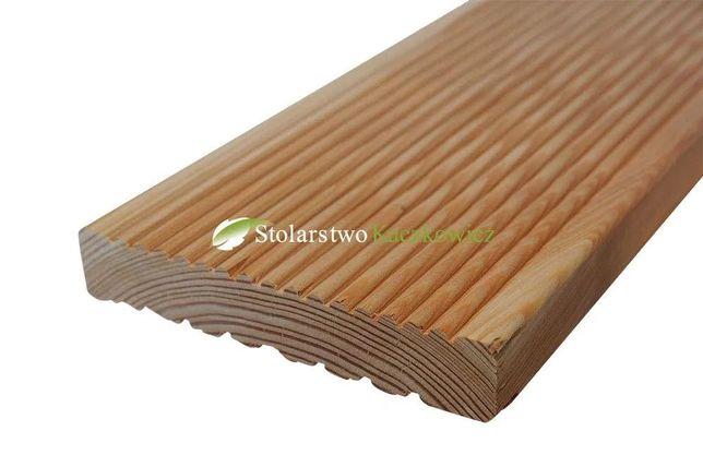 Deska tarasowa modrzew syberyjski 148x28mm producent