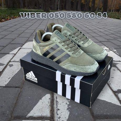 Мужские кроссовки Adidas Iniki • осень-зима • Термо • Адидас Иники