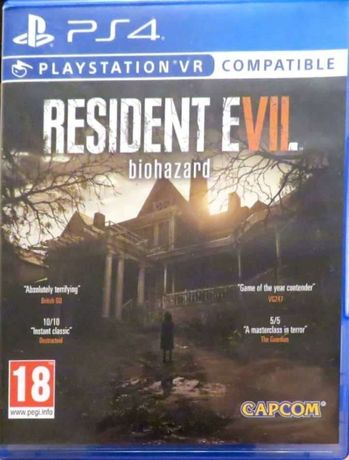 Resident Evil 7 Biohazard PS4 VR
