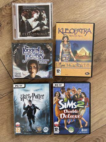 Gry Pc i płyta Florence; Harry Potter, Sims 2, Najdłuższa