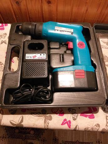 Wkrętarka,bateria,ładowarka,walizka