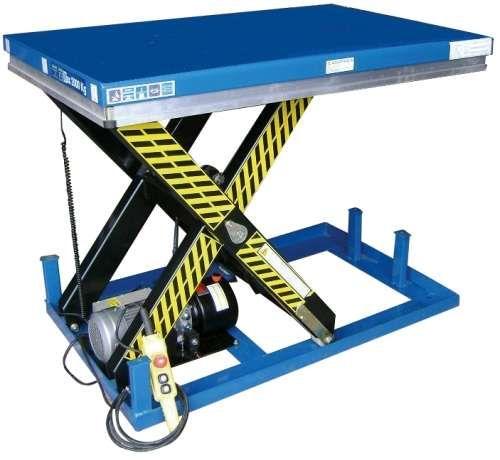 Plataforma Mesa elevatória eléctrica 1.000 kg