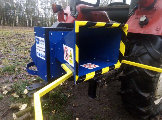 REBAK WALCOWY W100- do 9cm- do traktora- z workownicą i zaczepem
