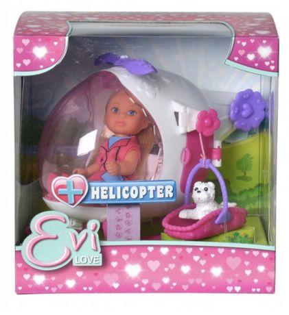 Игровой набор Кукла Еви на вертолете
