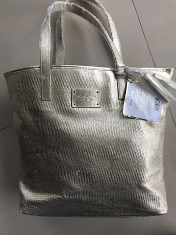 MK Michael Kors piekna nowa limitowana kolekcja zlota torebka shopper