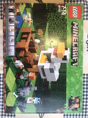 Конструктор Lego Minecraft 7+