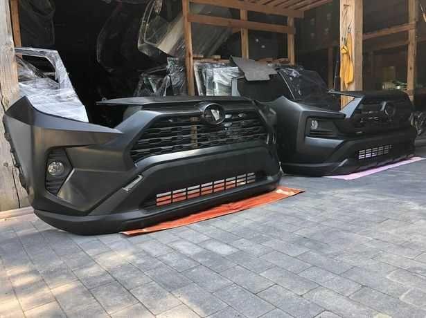 52119-0R921 Бампер передний (adventure) 2019 Toyota Rav 4 тойота фара