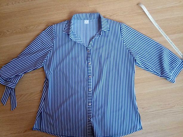 Elegancka koszula w paski 42