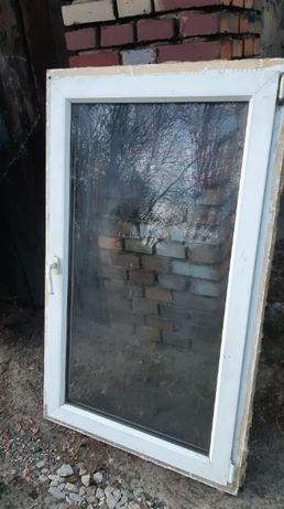 Okno plastikowe 86cm wysokość 142cm szerokość 86x142