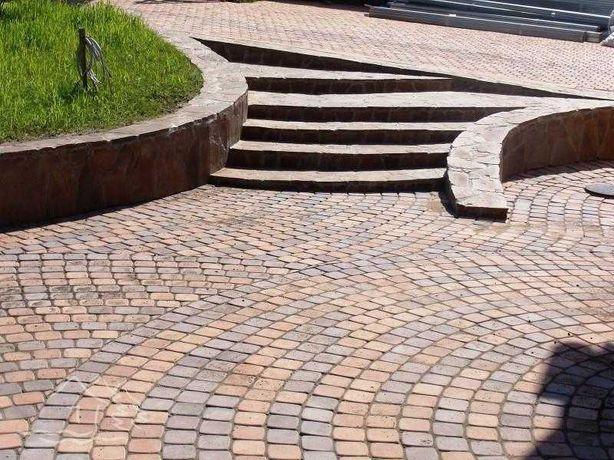 Тротуарная плитка - продажа и укладка
