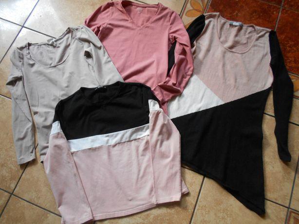 Zara H&M zestaw bluzka spodnie bluza spódniczka