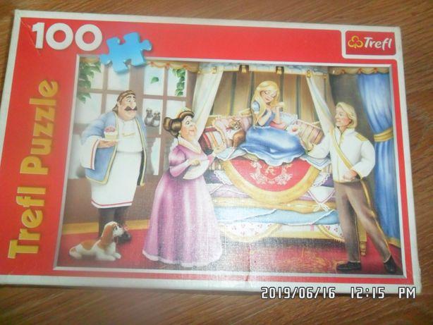 Puzzle 100szt trefl 40x27,6cm