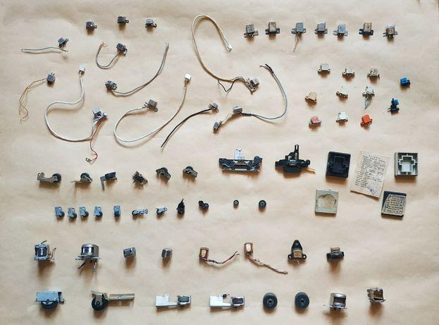 Головка для магнитофонов (катуш. и кассет.). прижимные ролики