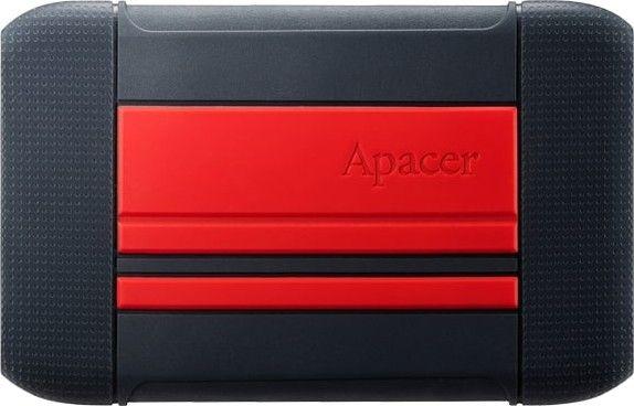 """Накопитель внешний HDD 2.5"""" USB 1TB Apacer AC633Black/Red"""