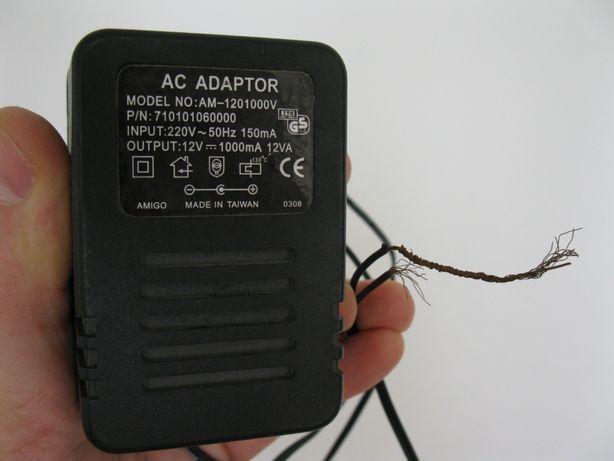 Блок питания 12V 1000 mA model no: am-1201000V