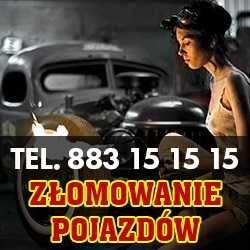 Kasacja pojazdów skup aut Krotoszyn