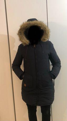 Granatowa zimowa kurtka Diverse rozm.L