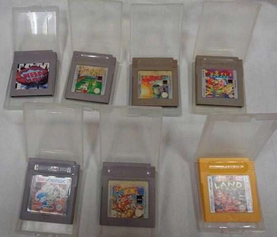 Game Boy siedem oryginalnych gier