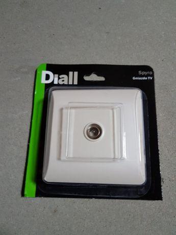 Sprzedam gniazdo tv diall