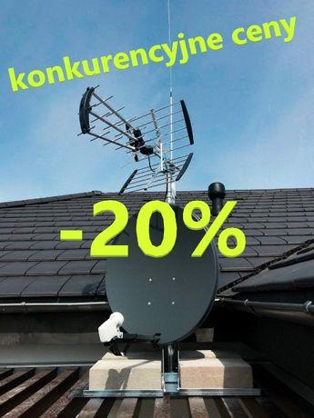 Montaż anten, ustawienie - konkurencyjne ceny! dzwoń!
