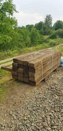 Podkłady ogrodowe, betonowe, drewniane palisady, słupy belki
