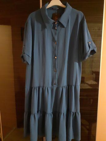 Sukienka niebieska XL Nowa