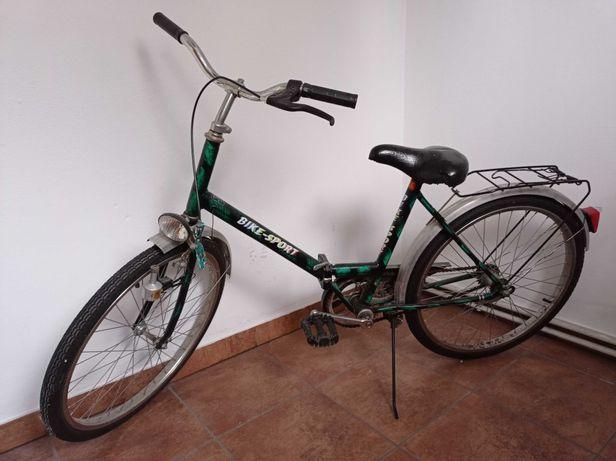 Rower składak zielony