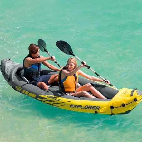 Kayak Insuflável c/ 2 Remos 312x91x51cm *Artigo Novo*
