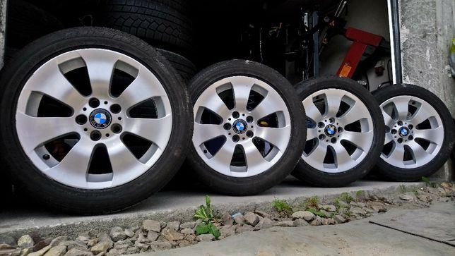 Koła BMW e90 X1 X3 F84 F87 BBS 17 cali 5x120 ET34 Opony 245/45