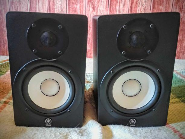 Par de monitores de estúdio/colunas Yamaha HS50M + cabos