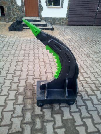 Ząb zrywając S60 koparki korzeni betonu Volvo ripper złącze S 60