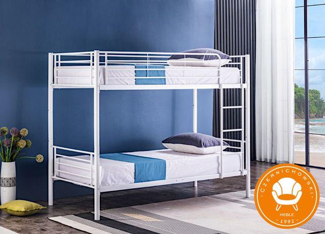 Łóżko Piętrowe Metalowe Kute 2w1 + Wysyłka 24H