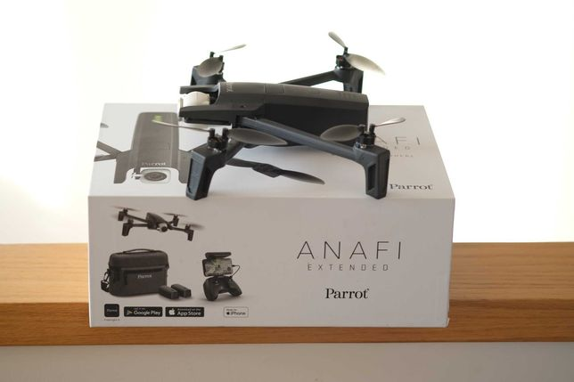 Drone Parrot Anafi - Extended, Nd filter, Multi carregador, Proteções